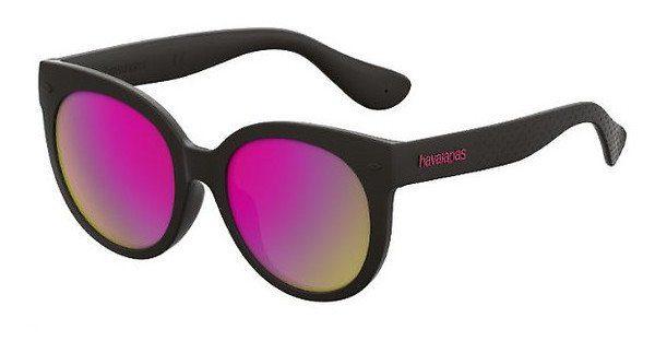 Havaianas Damen Sonnenbrille » NORONHA/L«, schwarz, 2P6/VQ - schwarz/rosa