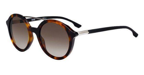Boss Damen Sonnenbrille » BOSS 0978/S«, braun, 086/HA - braun/braun