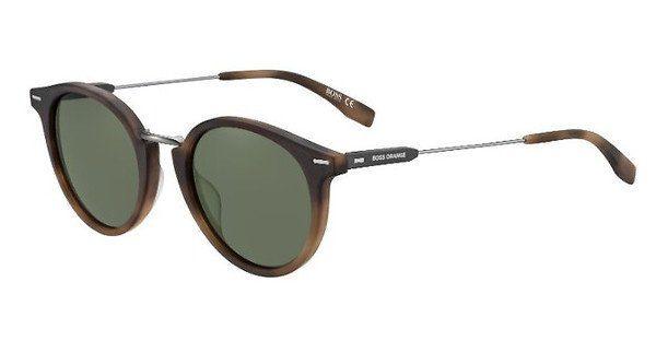 Boss Orange Sonnenbrille » BO 0326/S«, braun, HGC/QT - braun/grün