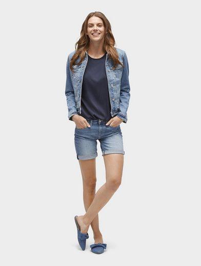 Tom Tailor Jeansbermudas Alexa Bermuda Jeans