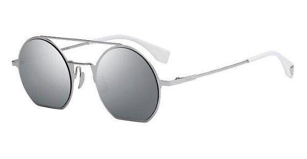 FENDI Fendi Damen Sonnenbrille » FF 0291/S«, schwarz, 807/T4 - schwarz/silber