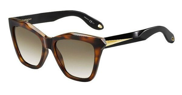 GIVENCHY Givenchy Damen Sonnenbrille » GV 7008/S«, schwarz, QOL/Y1 - schwarz/grau
