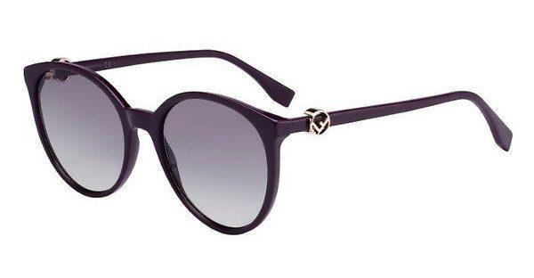FENDI Fendi Damen Sonnenbrille » FF 0288/S«, braun, 086/9O - braun/grau