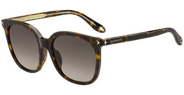 GIVENCHY Givenchy Damen Sonnenbrille » GV 7085/F/S«, braun, 086/3X - braun/rosa
