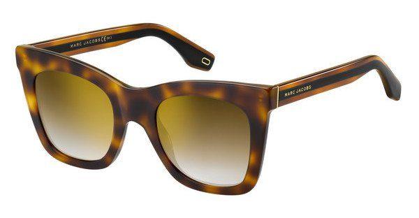 MARC JACOBS Marc Jacobs Damen Sonnenbrille » MARC 279/S«, schwarz, WR7/GB - schwarz/ blau