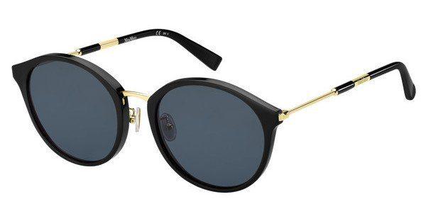 Max Mara Damen Sonnenbrille » MM COSY I FS«, schwarz, 807/9O - schwarz/grau