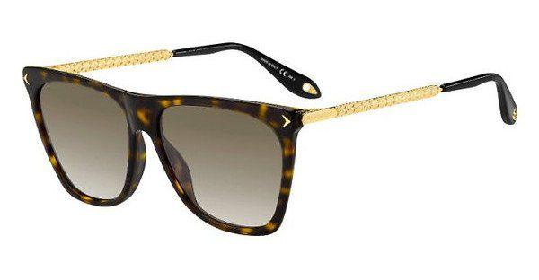 GIVENCHY Givenchy Damen Sonnenbrille » GV 7070/S«, braun, 086/HA - braun/braun