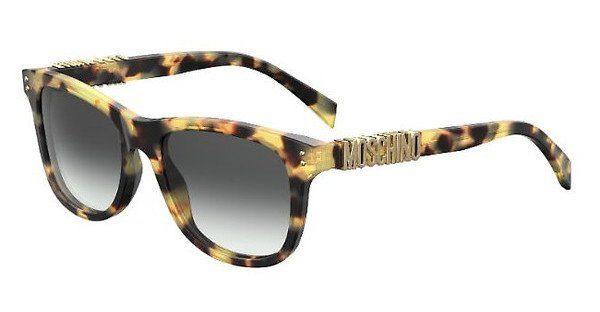 Moschino Damen Sonnenbrille » MOS003/S«, schwarz, 807/IR - schwarz/grau