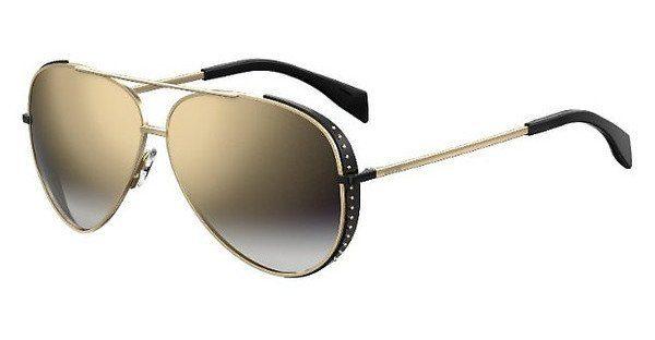 Moschino Damen Sonnenbrille » MOS007/S«, schwarz, 2M2/99