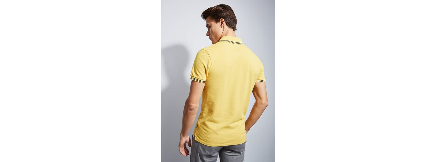 Otto Kern Polo-Shirt mit Streifen-Details Billige Wahl NtTfCS