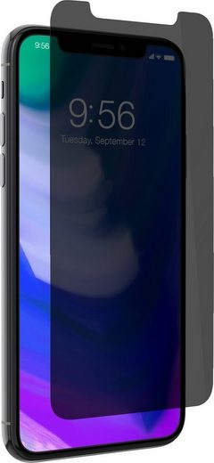 invisibleSHIELD Folie »Glass+ Privacy Screen IPhone X, Case friendly«