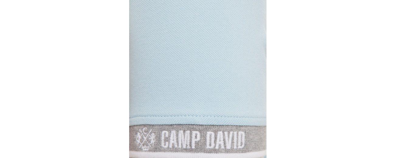 Freies Verschiffen Sammlungen Billig Verkaufen CAMP DAVID Poloshirt Amazon Online Geniue Händler Günstiger Preis rosdI7