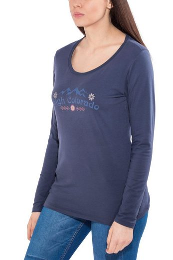 High Colorado Shirt Wallis 2 Longsleeve Damen