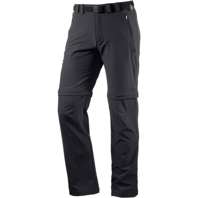 Herren CMP Zip-off-Hose MAN LONG PANT ZIP OFF grau | 08058361911529