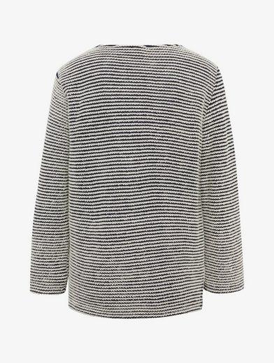 Tom Tailor Sweatshirt Gestreiftes Sweatshirt