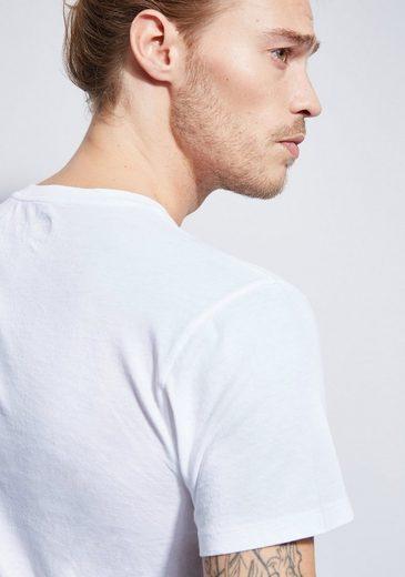 Otto Kern Rundhals T-Shirt im Used-Look
