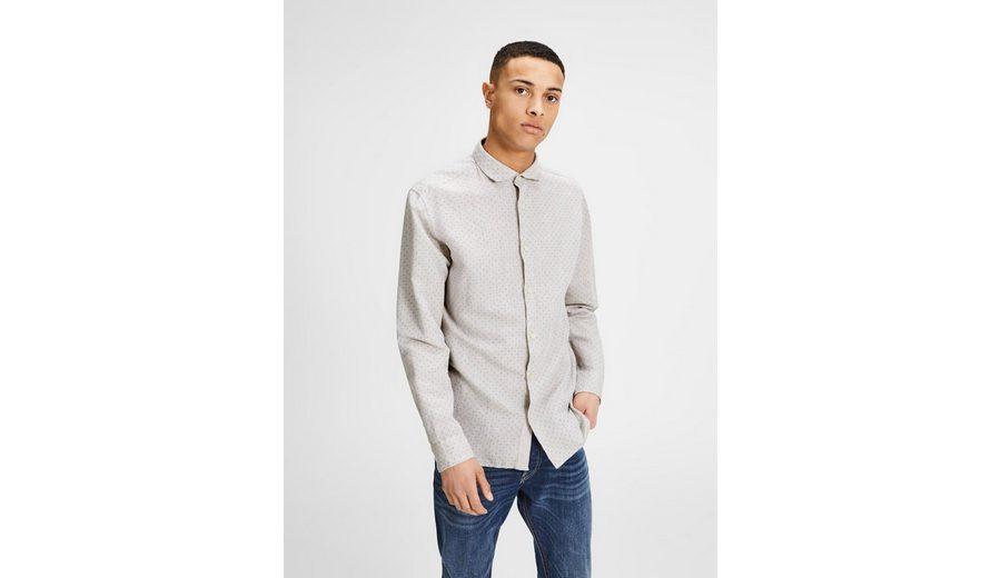 Jack & Jones Slim Fit Langarmhemd Original Zum Verkauf Echt Günstiger Preis 2QTvpi