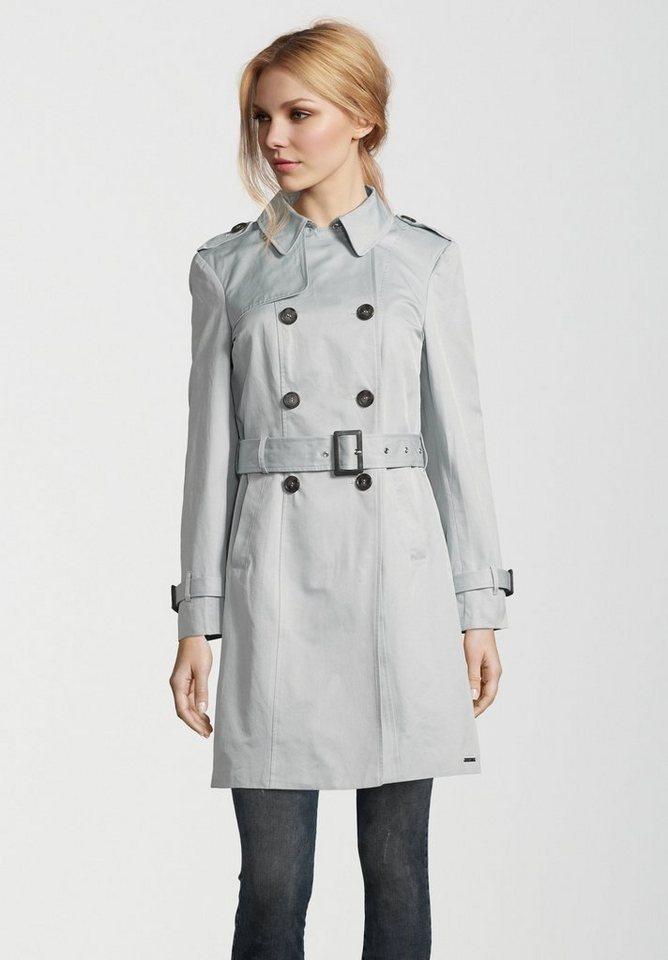 Rino & Pelle Trenchcoat »JALOE« Paisley-Muster innen   Bekleidung > Mäntel > Trenchcoats   Blau   Rino & Pelle