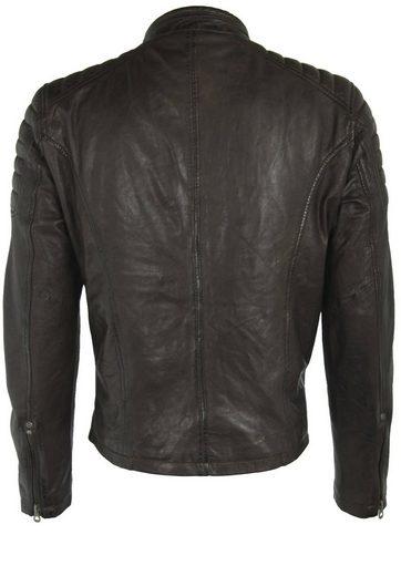 Gipsy Leather Jacket Chasen Legv, Pushbutton