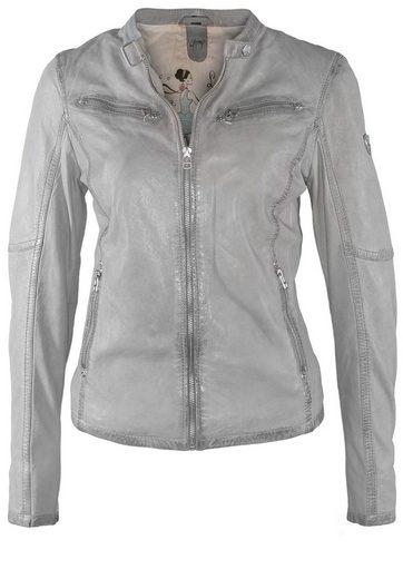Gipsy Leather Jacket Mona Lontv, Breast Pockets
