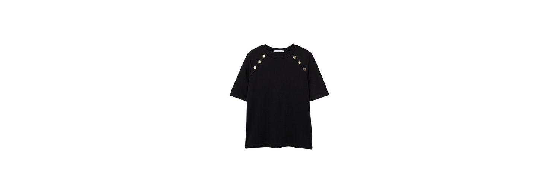 Zum Verkauf Der Billigsten Hohe Qualität Günstiger Preis MANGO T-Shirt mit seitlichen Snaps Spielraum Online Offizielle Seite Billiger Preis 8OsLCwQ8l
