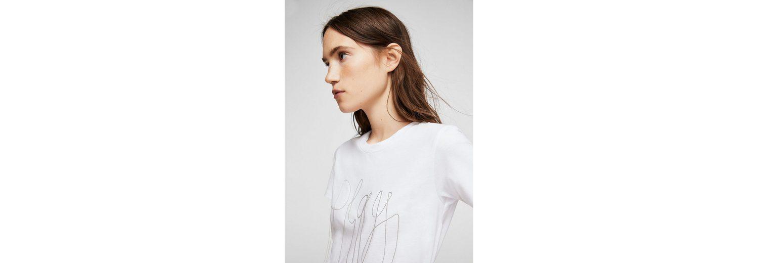 MANGO T-Shirt mit Zierkette Niedriger Preis Versandkosten Für Online Günstig Kaufen Authentisch Rabatt Offizielle Seite Billig Verkauf Websites Wie Viel esqPM3bPC5