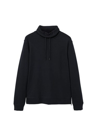 MANGO MAN Funnel neck cotton sweatshirt