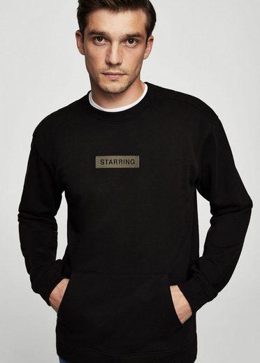 Mango Is Embroidered Cotton-sweatshirt