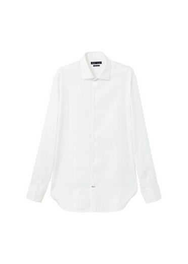 MANGO MAN Strukturiertes Slim Fit Tailored-Hemd