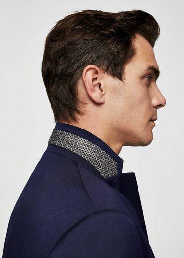 Mango Is Structured Super Slim Fit Suit Jacket