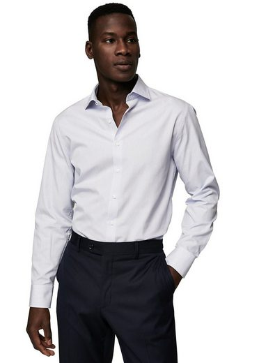 MANGO MAN Gestreiftes Slim Fit Tailored-Hemd