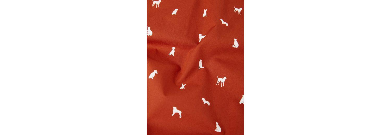 Ganz Welt Versand MANGO MAN Gemustertes Regular Fit-Hemd mit Hunde-Motiv Günstig Kaufen Genießen Rabatt Besuch Neu 7LayFPhe