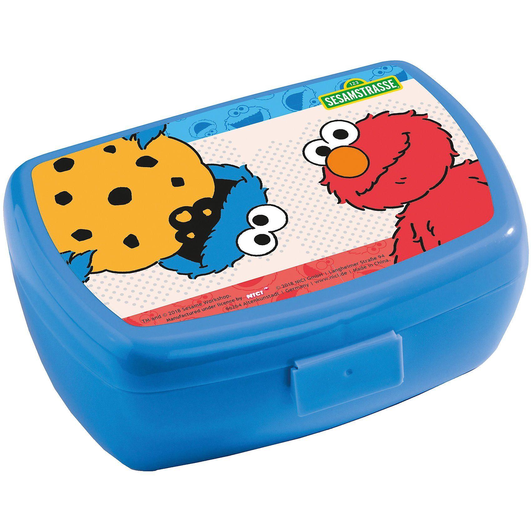 NICI Brotdose Krümelmonster & Elmo