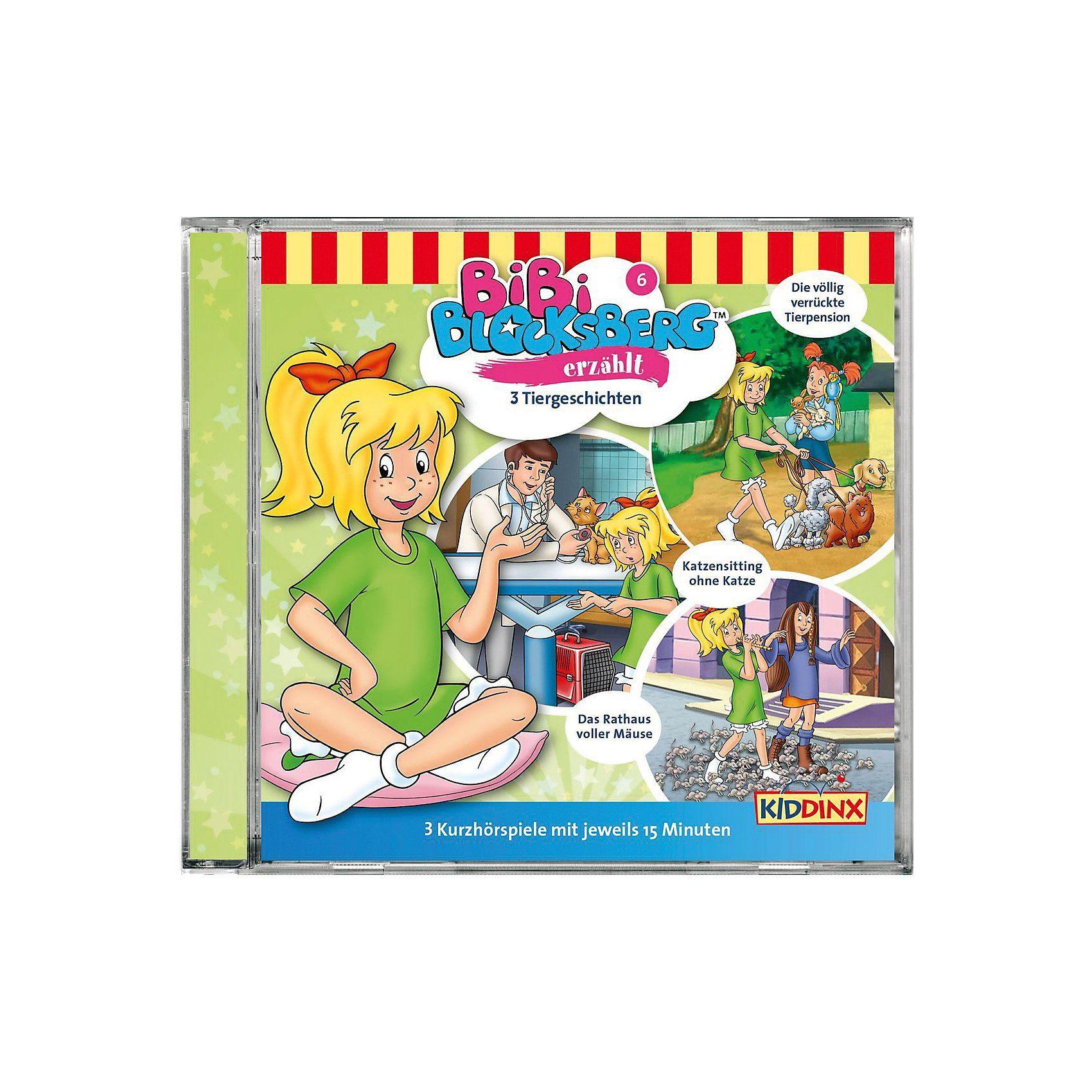 Kiddinx CD Bibi Blocksberg erzählt 3 Tiergeschichten