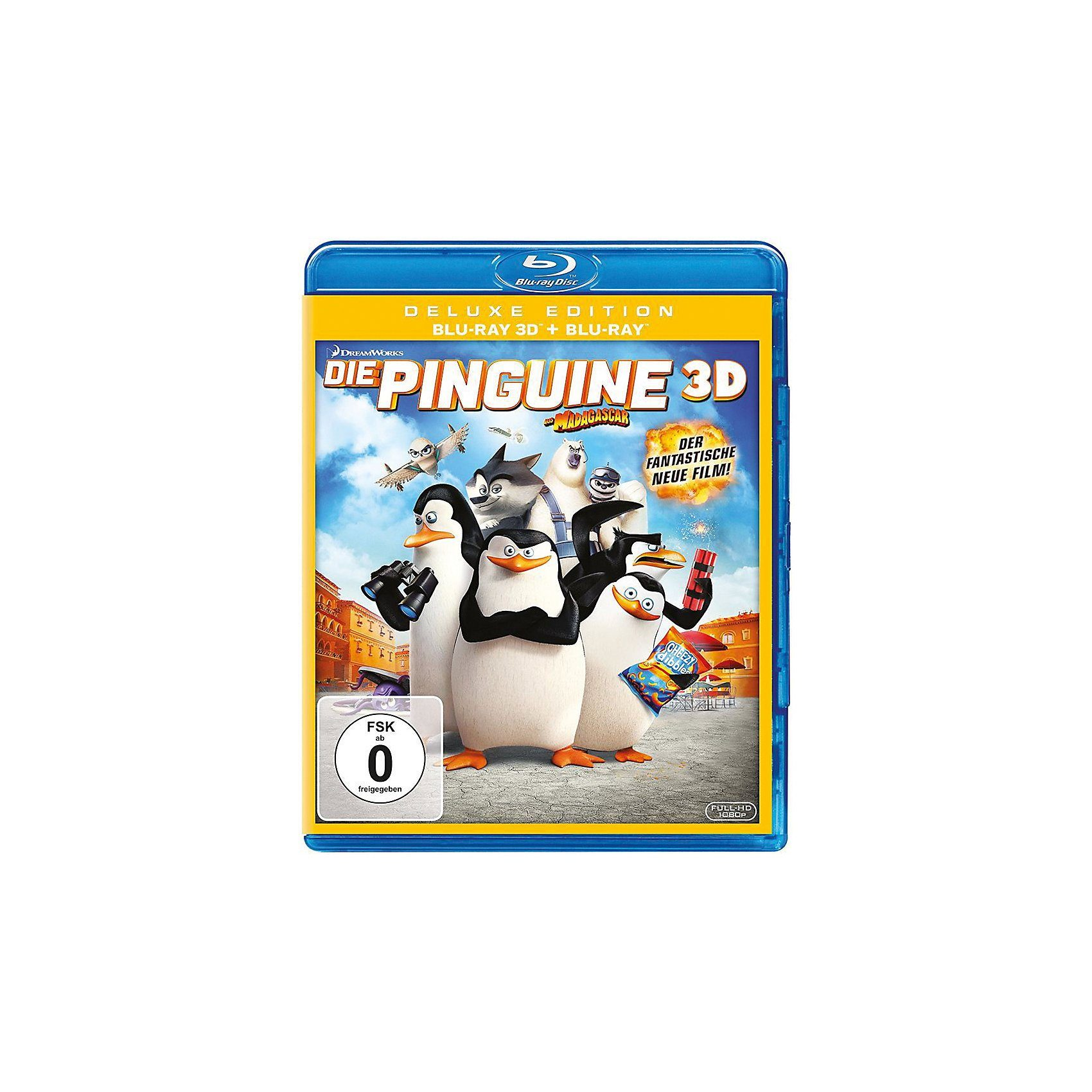 Universal BLU-RAY Die Pinguine von Madagascar 3D (BluRay 3D + BluRay)