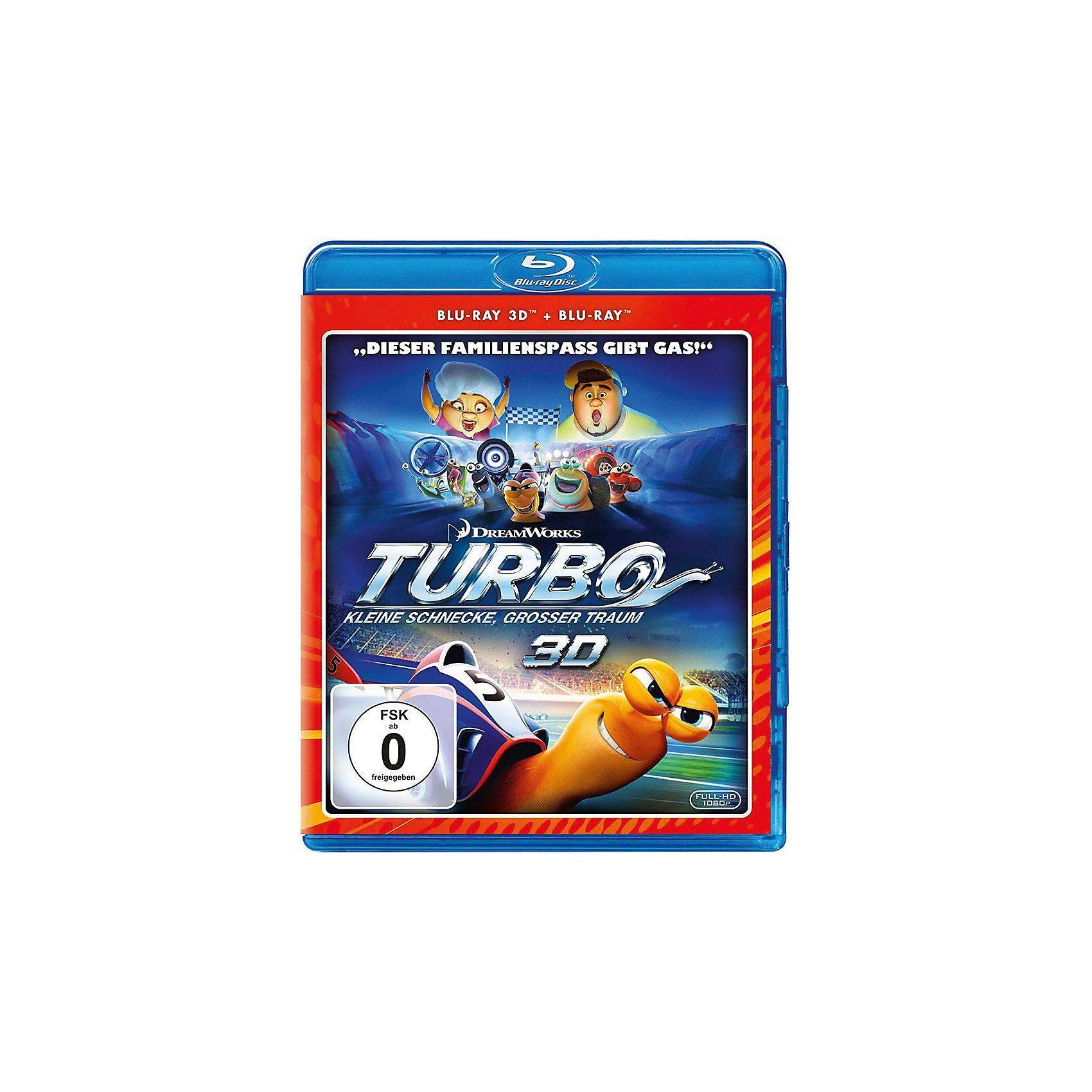 Universal BLU-RAY Turbo - Kleine Schnecke, großer Traum 3D (BluRay 3D