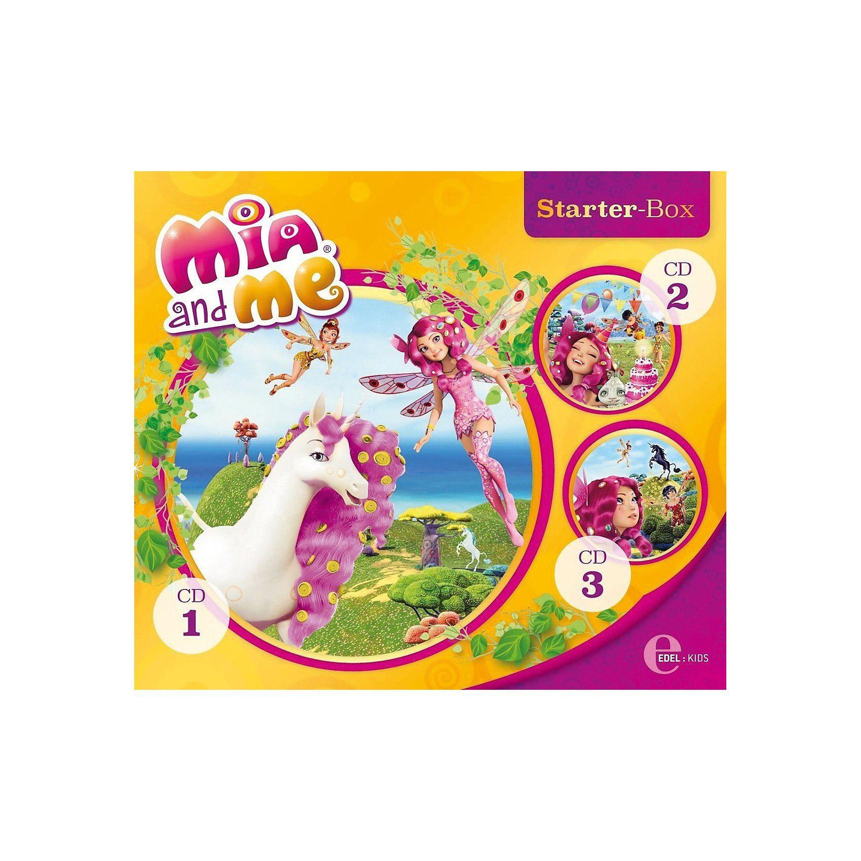 Edel CD Mia and Me- Die Hörspiele zum Buch - Starter-Box 1 (CD 1