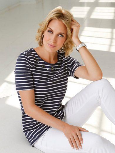 Paola Shirt With Beautiful Steinchenzier