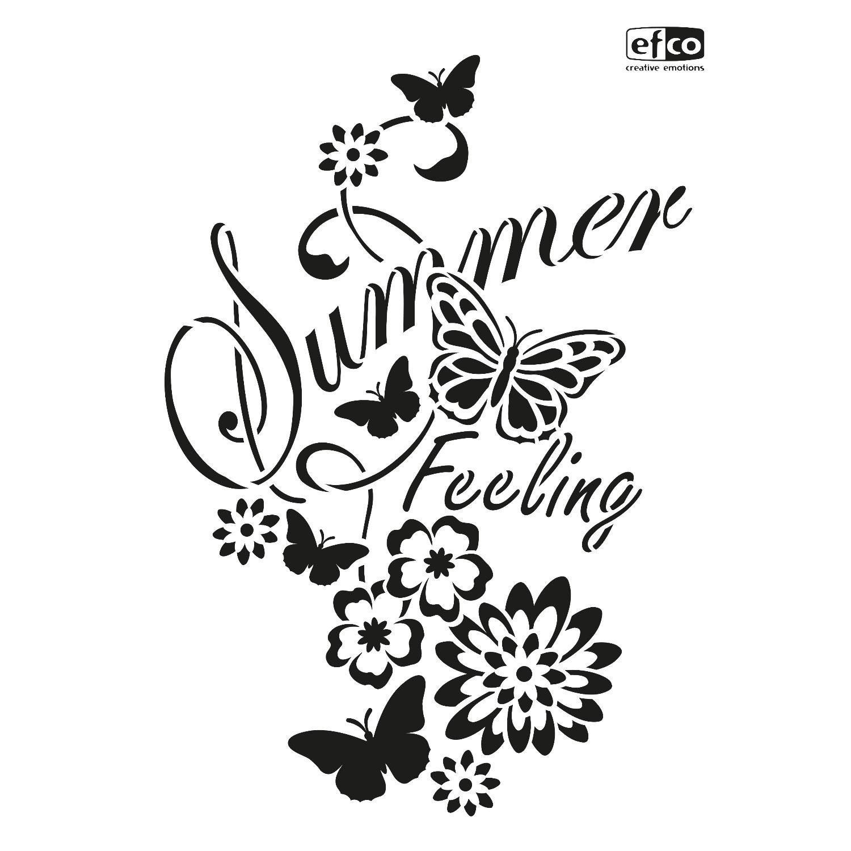 "Schablone ""Summer Feeling"" DIN A4"