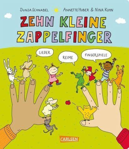 Buch mit Papp-Einband »Gedichte für kleine Wichte: Zehn kleine...«