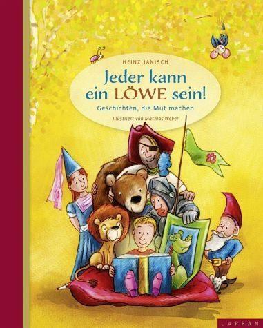 Gebundenes Buch »Jeder kann ein Löwe sein!«