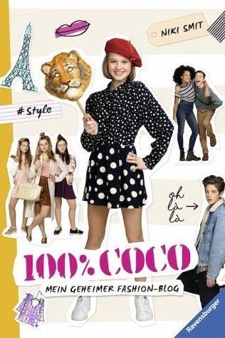 Broschiertes Buch »100% Coco. Mein geheimer Fashion-Blog«