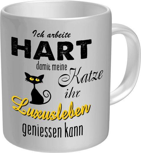 Rahmenlos Kaffeebecher für den Katzenliebhaber im Geschenkkarton
