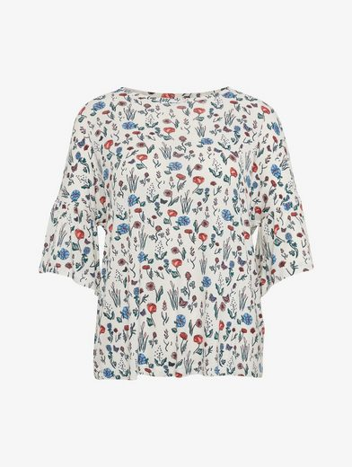 Tom Tailor Denim T-Shirt gemustertes T-Shirt