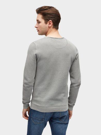 Tom Tailor Strickpullover Pullover mit Struktur