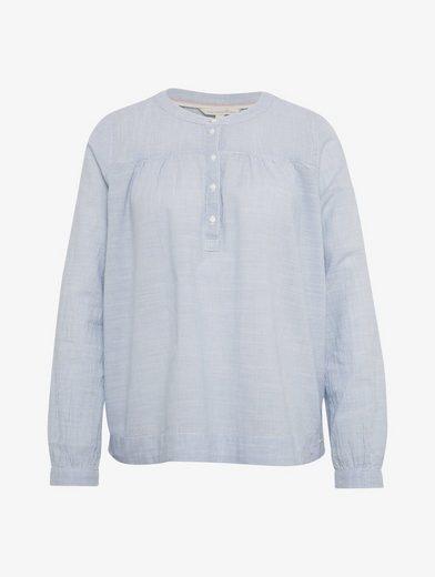 Tom Tailor Denim Langarmbluse Bluse im Streifenmuster