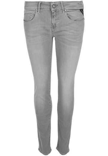 Replay 5-Pocket-Jeans ROSE LIGHT GREY, Strasssteine