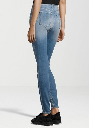 Replay 5-pocket-jeans Joi Ankle Zip, Zipper