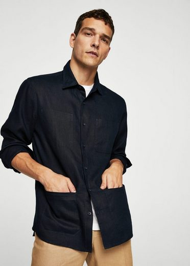 Mango One Regular Fit-shirt From Linen