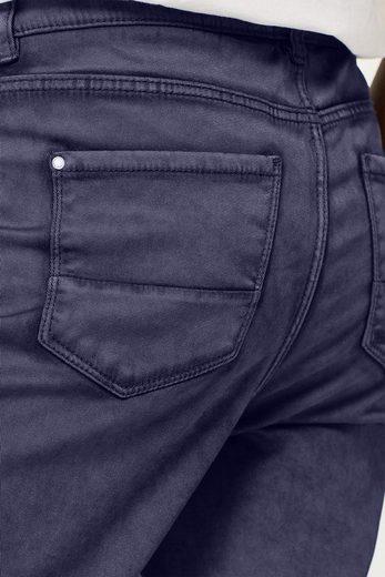 EDC BY ESPRIT Hose mit Knopfleiste und Trend-Waschung